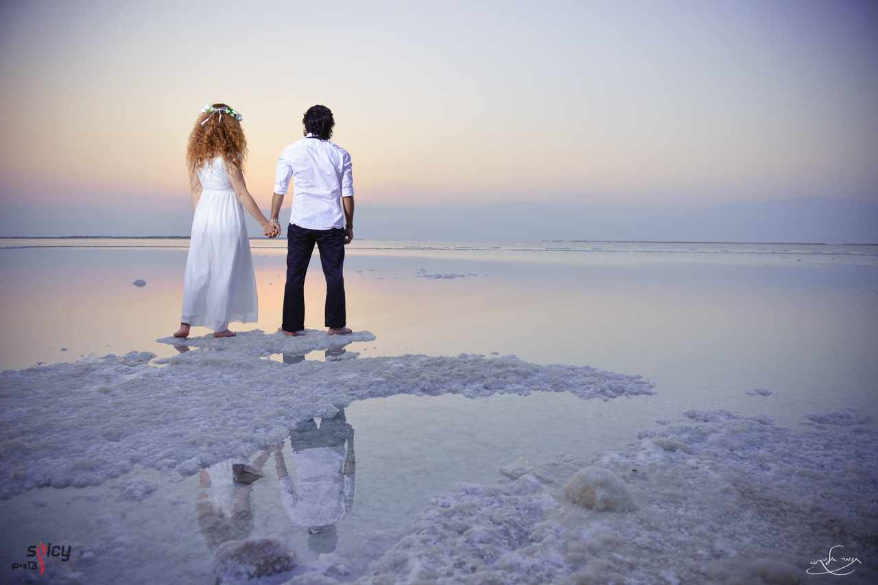 Haim-Maayan-Dead-Sea-Trash-The-Dress-Sunrise