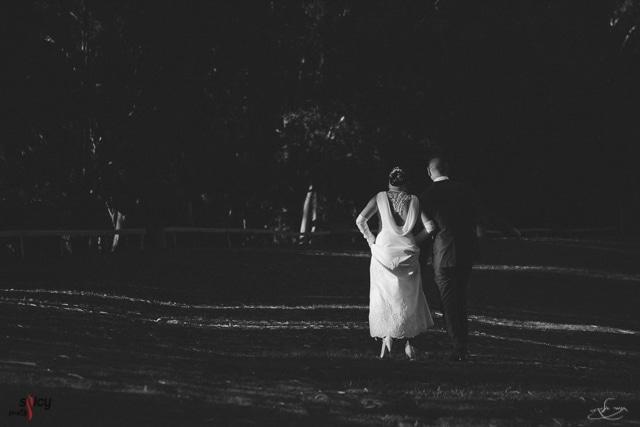 צילום חתונה שחור לבן